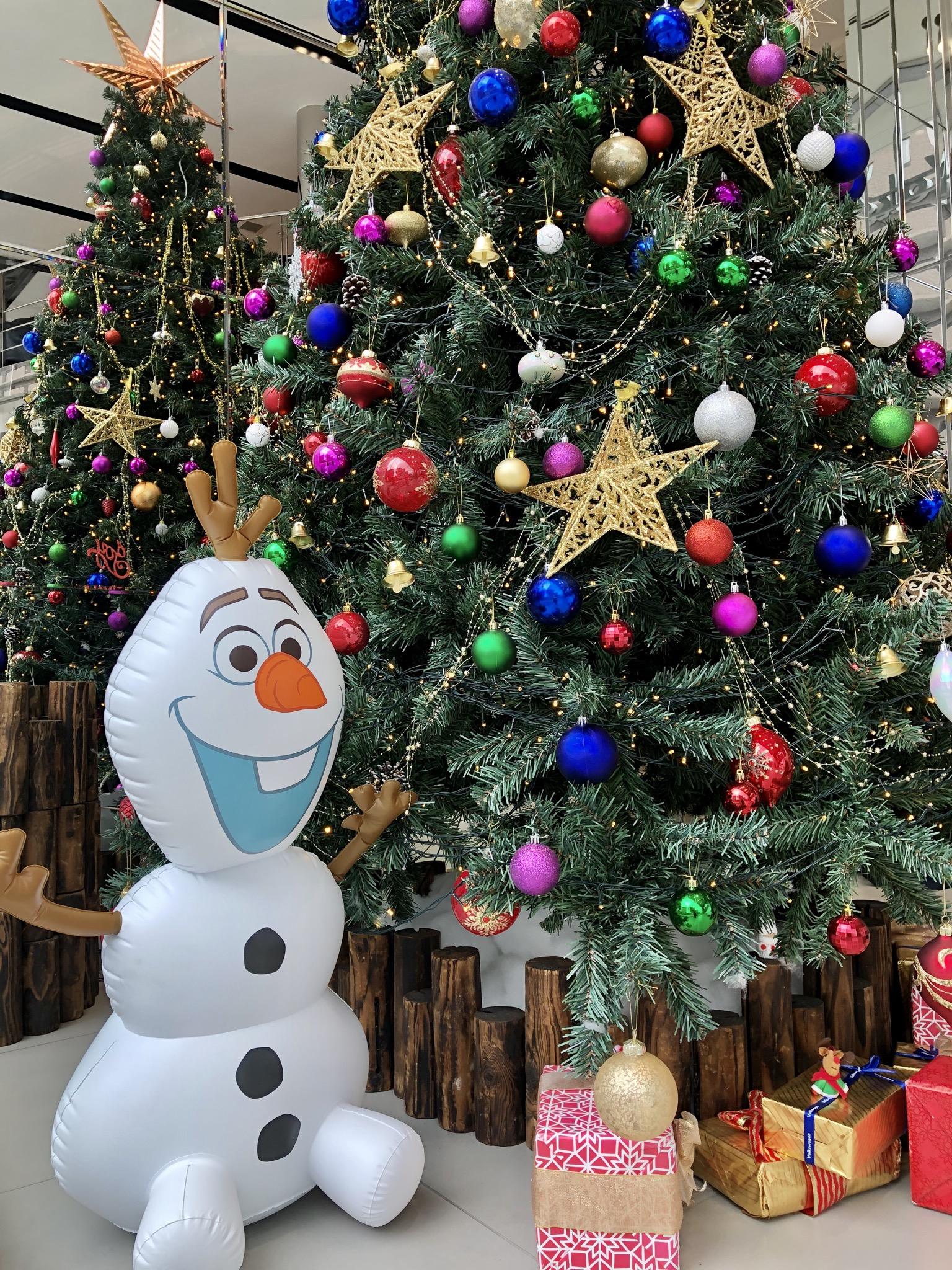 ★クリスマスツリー完成しました★